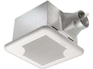 Delta Products BreezSignature Series 110 CFM Bathroom Exhaust Fan in White DSIG110H