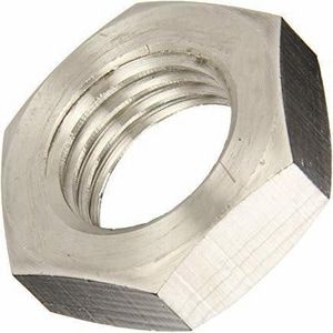 Barnes Group-Bowman 2/5 in. Stainless Steel Hex Nut B93605