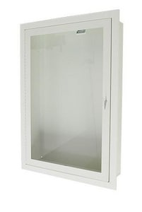Samson Products 18 in. Full Glass Hose And Valve Cabinet SC8515F10