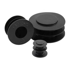 Mocap 1/2 in. NPT Straight Polyethylene Pipe Plug MPP114BK1