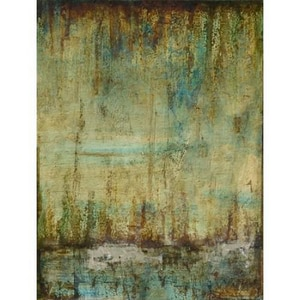 Yosemite Home Decor Emerald Tranquility in Yellow, Green and Blue YFCD56722
