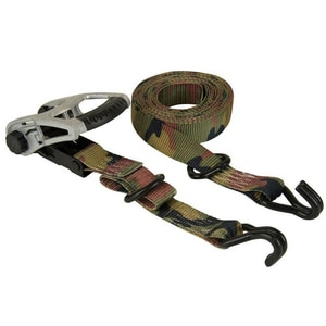 Everest Group Ratchet Tie-Down Motorcycle Strap or Rubber Handle in Camo and Green 4 Pack ES41103C
