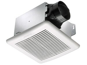 Delta Products BreezGreen Builder Series 100 CFM Bathroom Exhaust Fan in White DGBR100B