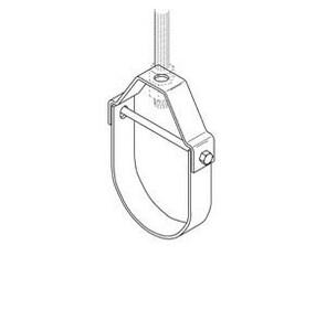 Cooper B-Line 1 in. Zinc Plastic Coated Clevis Hanger BB3100CZN