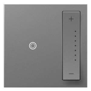 Pass & Seymour Softap™ 700W Universal Incandescent Dimmer in Magnesium PADTP703TUM4