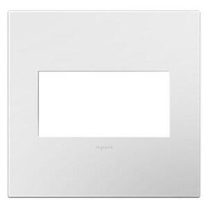 Pass & Seymour 2-Gang Wall Plate in Gloss White PAWP2GWHW10