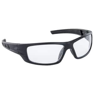SAS Safety VX9™ Polycarbonate Safety Glass with Black Frame in Clear and Anti-fog S551001