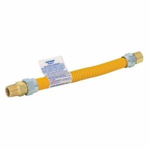 Easy Flex 48 x 5/8 in. OD 3/4 in. MIP x FIP Yellow EFGC012YE143348