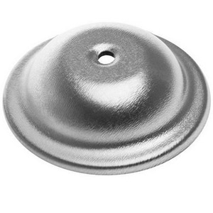 LSP Products Group 4-1/2 in. ABS Bell Cleanout Cover Plate Chrome LR1542