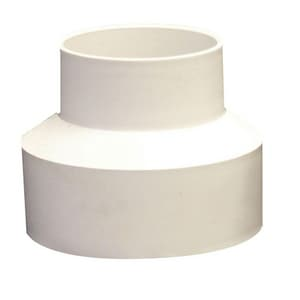 GPK 4 x 6 in. Hub Reducing and DWV Schedule 40 PVC Coupling G309