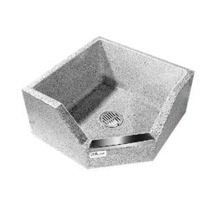Stern-Williams CORlow® 32 x 32 in. Mop Basin in Stainless Steel SSBC1725