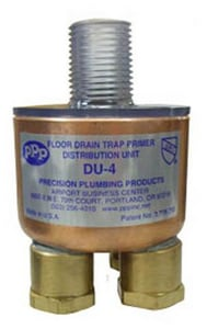 Precision Plumbing Products 4-3/8 in x 1/2 in. Trap Primer Valve PDU4