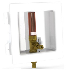 LSP Products Group 5-3/16 in x 5-3/16 in x 2-1/2 in Ice Maker CPVC Supply Box LOB807LL