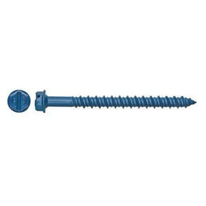 Powers Fasteners 1/4 x 3-3/4 in. Tapper Concrete Screw Hex Washer Head P2730SDPWR