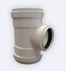 GPK 8 x 8 x 4 in. Gasket Reducing SDR 35 PVC Tee G1030084