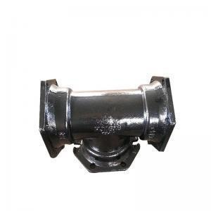 D and M Coatings 6 in. Mechanical Joint Permox CTF™ Ductile Iron C153 Short Body Tee DDMT66CTF