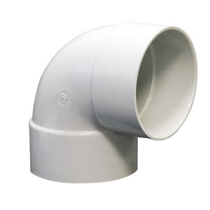 6 in. IPS Straight SDR 9 and CL200 Molded HDPE 90 Degree Elbow PEI9BFM9U