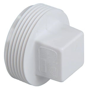 GPK 6 in. MIPT Sewer Straight SDR 35 PVC Plug G2280006
