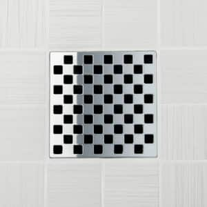 Ebbe America Weave Polished Stainless Grate EE4807PS
