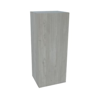 Imperial USA Cambridge 18 x 36 x 12 in. Threespine Wall Cabinet in Grey Nordic Wood ISAWU1836GN