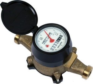 Master Meter 5/8 x 1/2 in. Direct Reading Water Meter MB11A11A030101A1