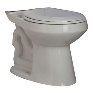 PROFLO® Calhoun 15-1/2 in. Vitreous China Elongated Toilet Bowl in White PF1501TWH