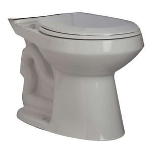 PROFLO® Calhoun 15-1/2 in. Vitreous China Round Front Toilet Bowl in White PF1500TWH