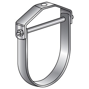 Empire Industries 1-1/2 in. 304L Stainless Steel Clevis Hanger E11SS