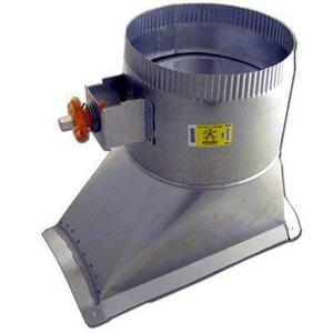 Elgen Manufacturing 4 in. Adhesive Saddle with Heavy Duty Stand-Off and Scoop ESF014502HDSC
