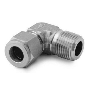 Swagelok 1/2 x 1/2 in. Tube x MPT Stainless Steel 90 Degree Elbow SSS02