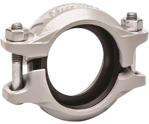 Victaulic FireLock™ Style 356 3 in. Gasket Straight Schedule 80 CPVC and EPDM Galvanized Ductile Iron Coupling VL0356GE0-NR