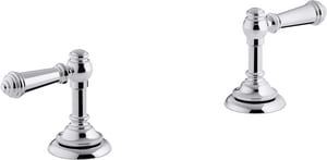 KOHLER Artifacts® Bathroom Sink Lever Handles in Polished Chrome K98068-4-CP
