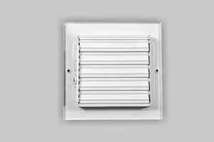 PROSELECT® 6 x 6 in. Residential Ceiling & Sidewall Register in White 4-way Steel PS4CWMLUU