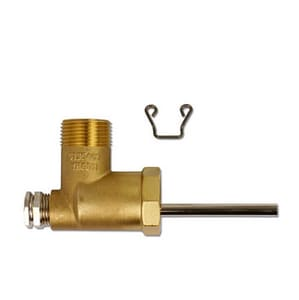 Viessmann 1 x 1 in. Brass Elbow with Sensor Well V7175213