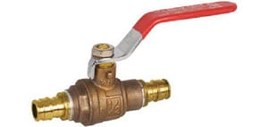 Sioux Chief 648 Series 1/2 in. Brass Full Port F1960 Ball Valve S648WG2FP