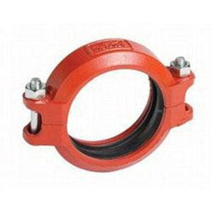 Victaulic FireLock™ Style 009N Domestic 8 in. Painted Rigid Coupling VDOML08009NPE2