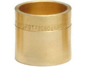 Sioux Chief PowerPEX® 1-1/4 in. F2080 Straight Brass Compression Sleeve for PEX SDR9 Tubing S649A235507