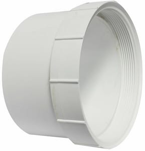 Harco-The Harrington Corporation 8 in. Hub Clean-Out and Straight SDR 35 PVC Sewer Adapter H355908