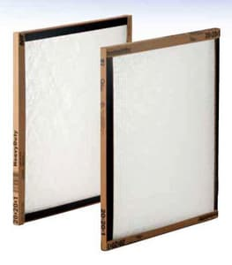 American Air Filter 25 x 20 x 1 in. Sturdy, Economical and Disposable Panel Filter with High Strength Polyester Media A278051