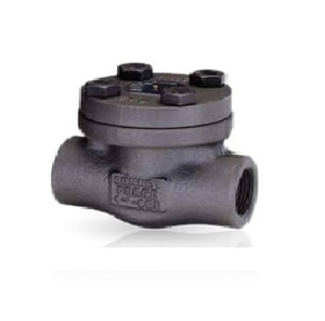 Bonney Forge 1-1/4 in. Forged Steel Threaded Check Valve BHL41SWH