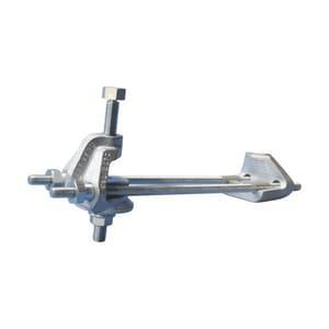 nVent ERICO 1-1/4 in. Electro Galvanized Adjustable I-Beam Attachment ECSBIB125180EG
