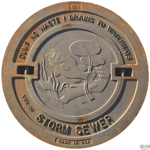 EJ USA 32 in. Cover for Sewer LL32C4S