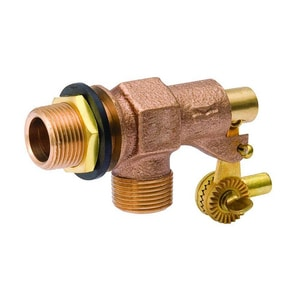 B&K 5-31/64 in. 2 in. Bronze Male Inlet x Plain Outlet Fill Valve B109808