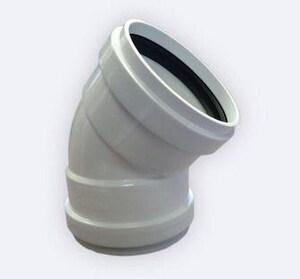 Harrington Corporation 8 in. Gasket Straight DR 35 PVC 45 Degree Elbow H352208