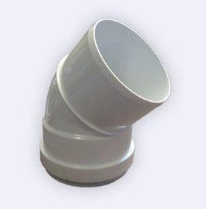 Harrington Corporation 4 in. Gasket x Spigot Straight DR 35 PVC 45 Degree Elbow H3523