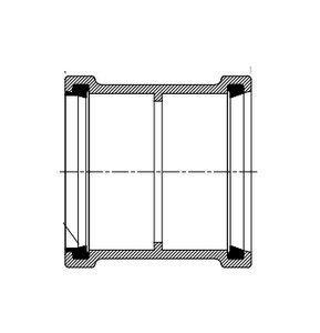 Harco-The Harrington Corporation 6 in. Bell End IPS Straight PVC Sewer Adapter for C900 Pipe H1837006