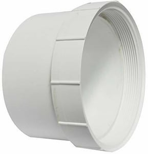 Harco-The Harrington Corporation 4 in. Solvent Weld x Hub Clean-Out and Straight PVC Adapter for C900 Pipe H3590
