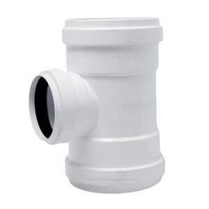 Harrington Corporation 6 x 6 x 4 in. Gasket Reducing SDR 35 PVC Sewer Tee H35120604
