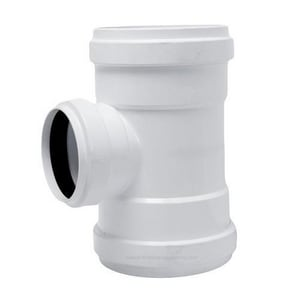 Harrington Corporation 10 x 10 x 8 in. Gasket Reducing SDR 35 PVC Sewer Tee H35121008