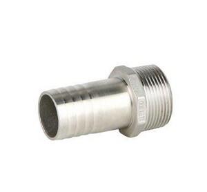 FNW® 7-17/100 in. MNPT x Hose Stainless Steel Nipple FNWKNSTP